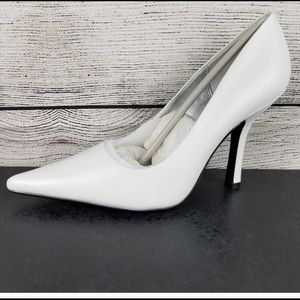New CL Spice leather heel pumps